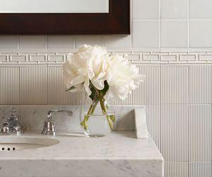 bath, white, and black image