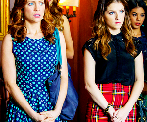 brittany snow, anna kendrick, and pitch perfect image