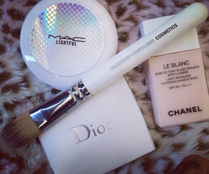 dior, chanel, and mac image