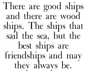 forever, friendship, and quote image