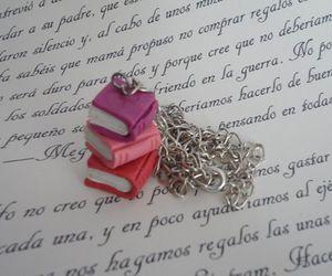 bookish, books, and fimo image