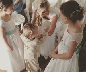 heather morris, wedding, and elijah image