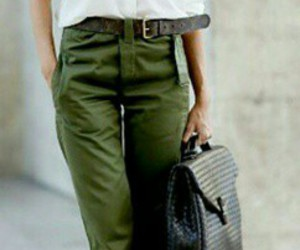 inspired, silhouette, and trouser image