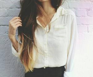 girl, hair, and fashion image
