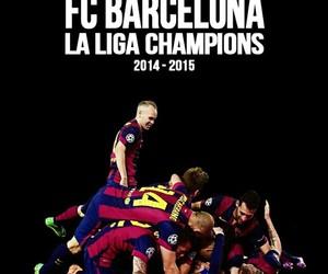 Barca, messi, and Barcelona image