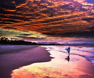 beach, heaven, and sea image