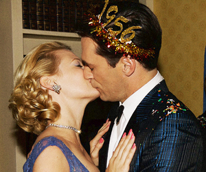 mad men, kiss, and new year image