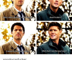 dean winchester, funny, and spn image