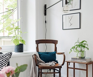 chair, cozy, and interior image