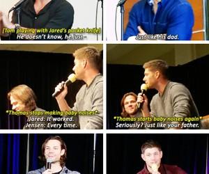 cast, jared padalecki, and Jensen Ackles image