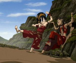 blind, zuko, and katara image