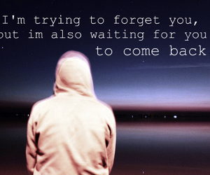 forget, text, and waiting image