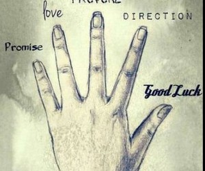direction, promise, and good luck image