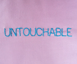 pink, untouchable, and grunge image