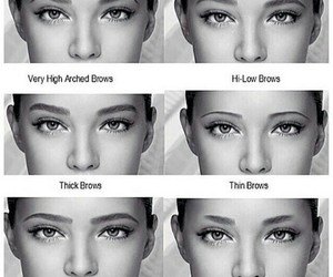 eyebrows, eyes, and beauty image