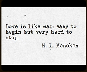 war, love, and is hard image
