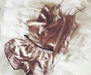 silk, lingerie, and pajamas image