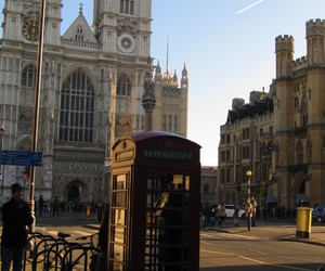 cabine telephonique and london image
