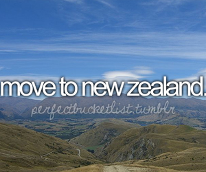 before i die, new zealand, and bucket list image