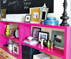 pink, design, and room image