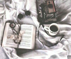book, coffee, and Dream image