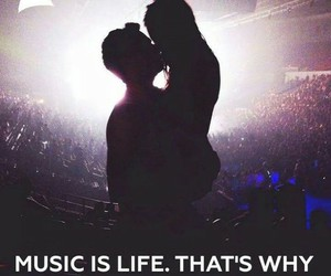 music, life, and love image