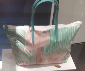 bags, beauty, and lacoste image