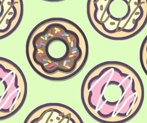cool, donut, and food image