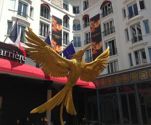 cannes, the hunger games, and mockingjay image