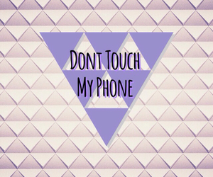phone and dont touch m image