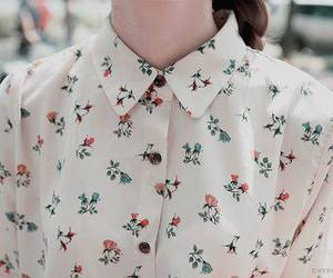 vintage, shirt, and flowers image