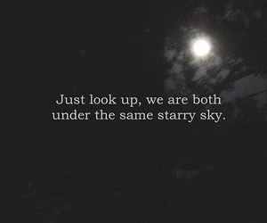 sky, quotes, and stars image