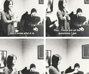 funny, ezria, and interview image