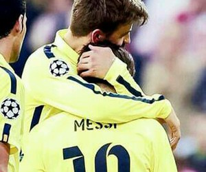 football, gerard piqué, and friends image