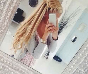 beautiful, long, and hair image