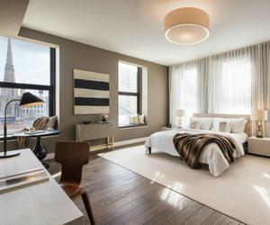 bedroom and new york image
