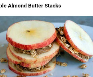 almond, apple, and food image