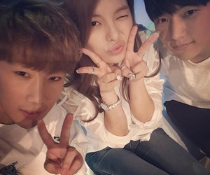 L, sunggyu, and ailee image
