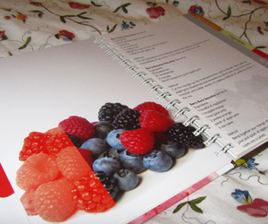 berries, drink, and strawberry image