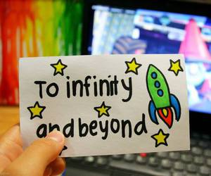 infinity and quote image