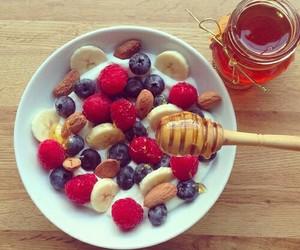 honey, fruit, and food image