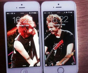 michael clifford, luke hemmings, and 5 seconds of summer image