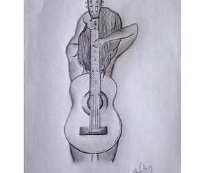 art, beautiful, and drawing image
