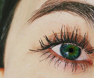 green, eyes, and girl image
