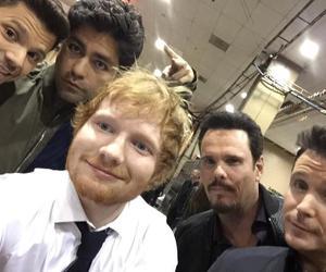 boy and ed sheeran image