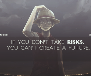 one piece, anime quotes, and monkey d. luffy image
