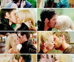 hook, ouat, and emma swan image