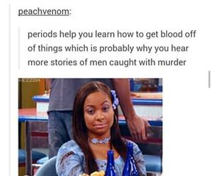 funny, periods, and puns image