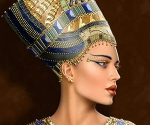ancient egypt, egyptian, and Queen image