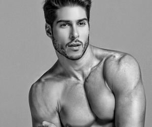 black and white, brazilian model, and hot model image